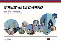 Invitation Tax conference