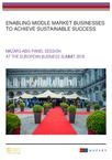Enabling middle market businesses to achieve sustainable success - Final report