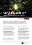 EIU SUSTAINABILITY TECHNOLOGY
