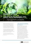 Regulation sustainability preview