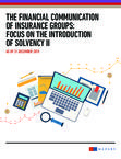 Financial communication of insurance groups 2016