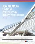 Study_Performance of European construction groups 2016